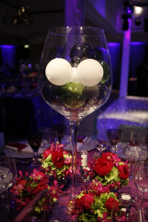 Events designs a wedding at cameron house giant wine
