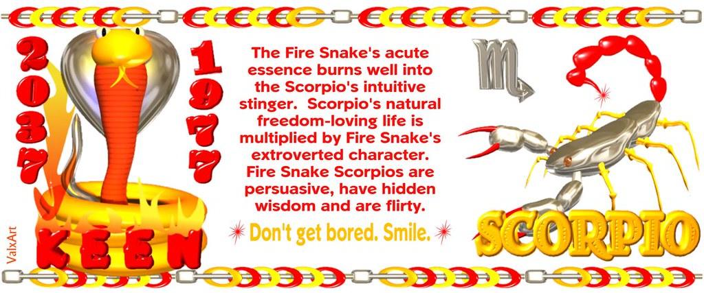 valxart 1977 2037 chinese zodiac fire snake scorpio flickr. Black Bedroom Furniture Sets. Home Design Ideas