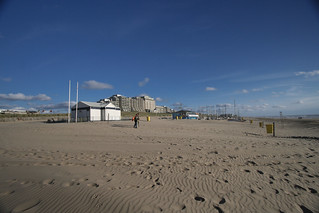 Noordwijk, Holland: panoramic view of the coast with the Meeting's venue in the background. | by ePostersLive
