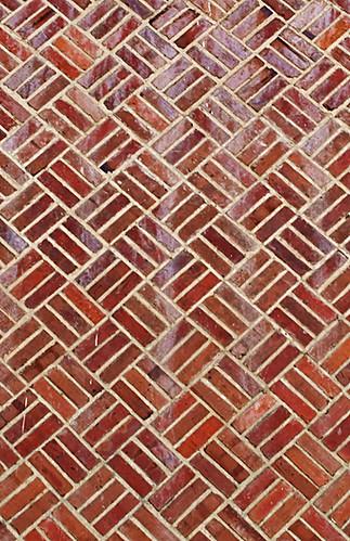 North Side View Brick Pattern Original Building Madison Ri