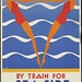 "By train for seaside holidays! Take a ""Kodak"""