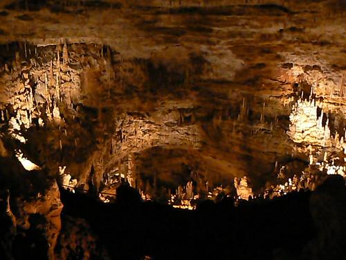 Natural Bridges Cavern Cave Stalagmites Stalactites Near