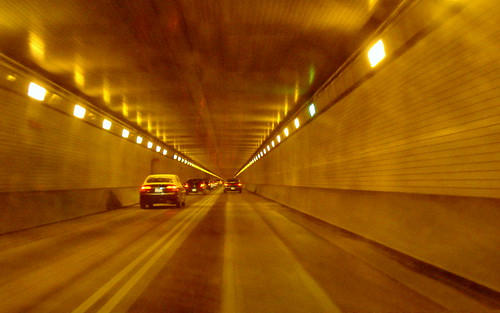 TUNNEL AHEAD - Stay in your own lane - NO PASSING!  LIGHT is at the end of the tunnel!!! | by Clara Hinton