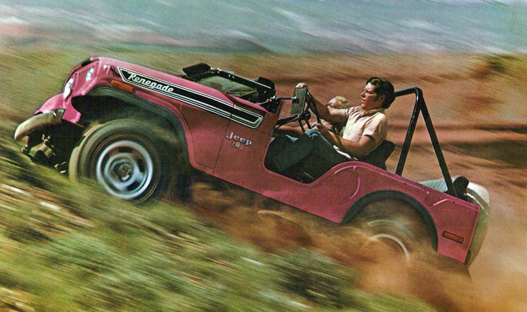 Jeep Wrangler Jk >> 1973 Jeep CJ5 Renegade | coconv | Flickr
