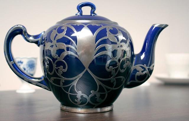 Lenox Silver Overlay Tea Pot In The 1910s Through The 1930 Flickr