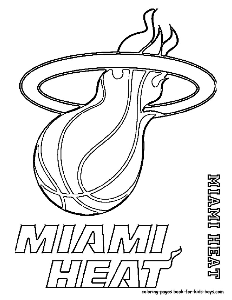 heat coloring pages | 15_Miami_Heat_basketball_at_coloring-pages-book-for-kids-b ...