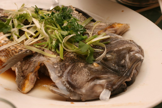 Photo for Steamed whole fish