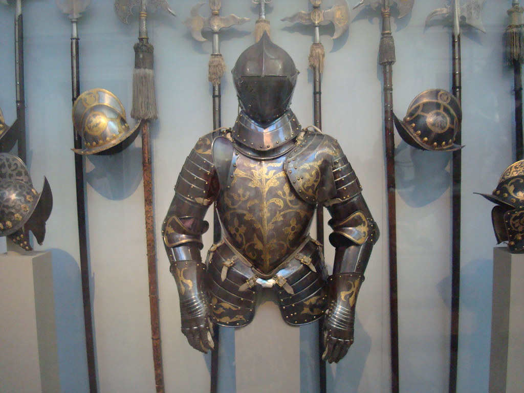 Medieval Armor, Weapons, and Helmets | Armor seen at The ...