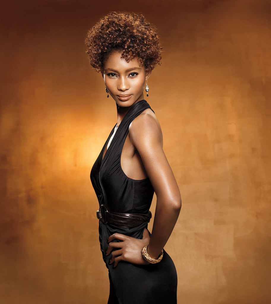 Short Curly Black Hairstyle By Mizani Visit Black