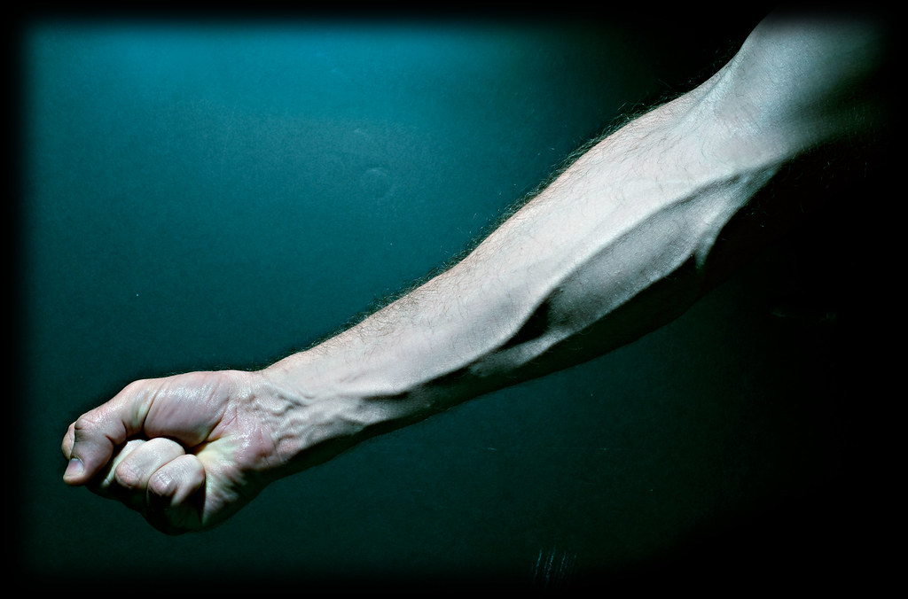 veins in my right arm. | i was doing something for a persona… | flickr, Cephalic Vein
