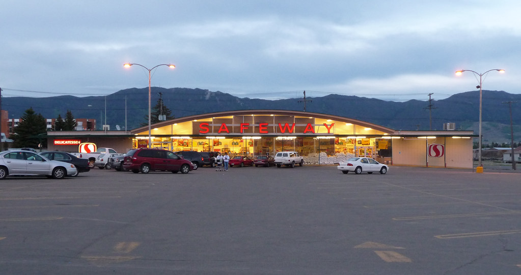 Safeway Butte Mt Based On The Late 1950s Prototype In