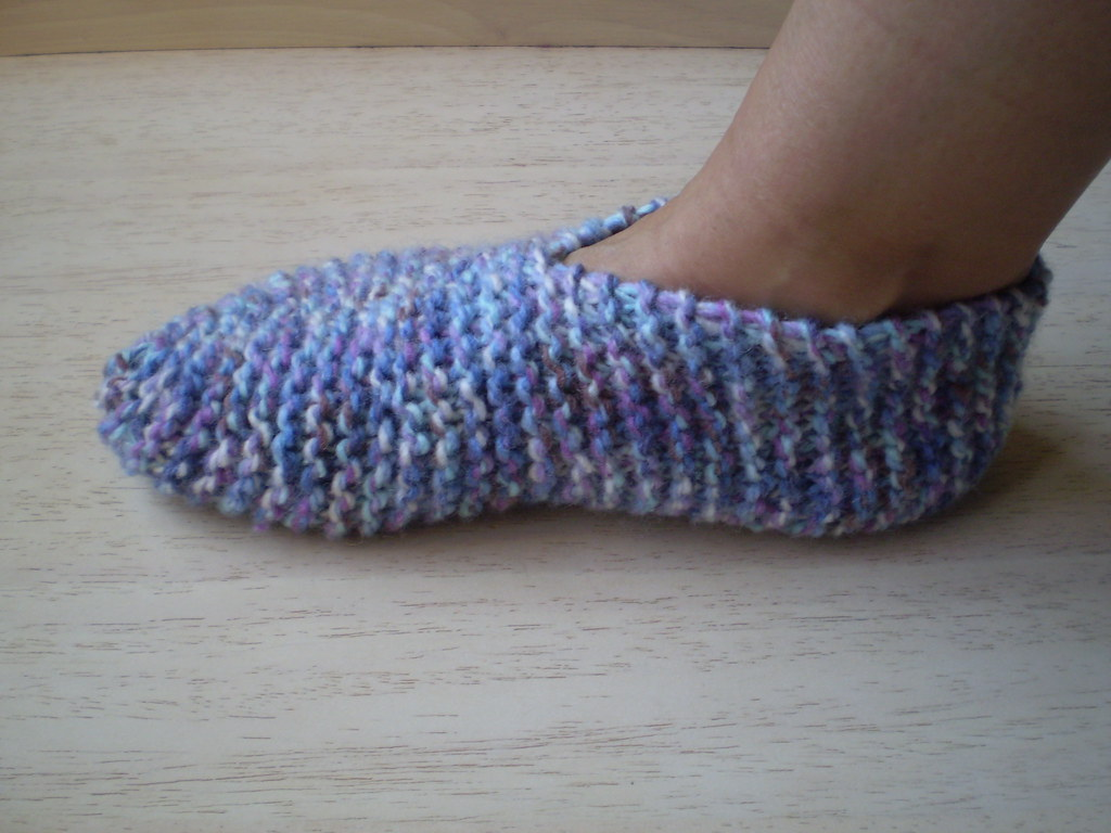 Easy Knitting Ideas For Adults : Booties for grown ups rosemily flickr
