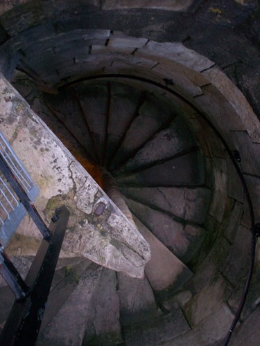 Stairs in Clifford's Tower | by isladar