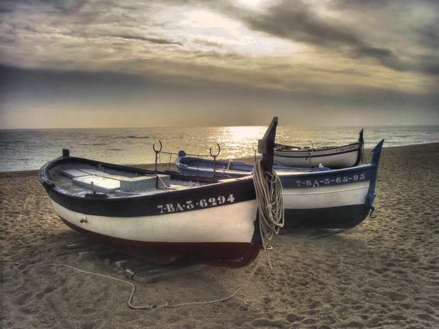 Barcas de pesca  Captada con una Samsung Digimax A 502  Porschista ...