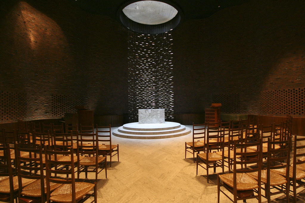 Mit Chapel Eero Saarinen This Non Denominational