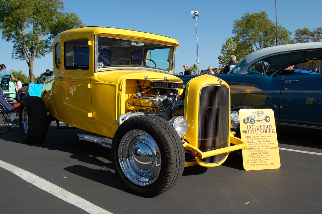 1931 Ford Model A The Cruise In Event Before The