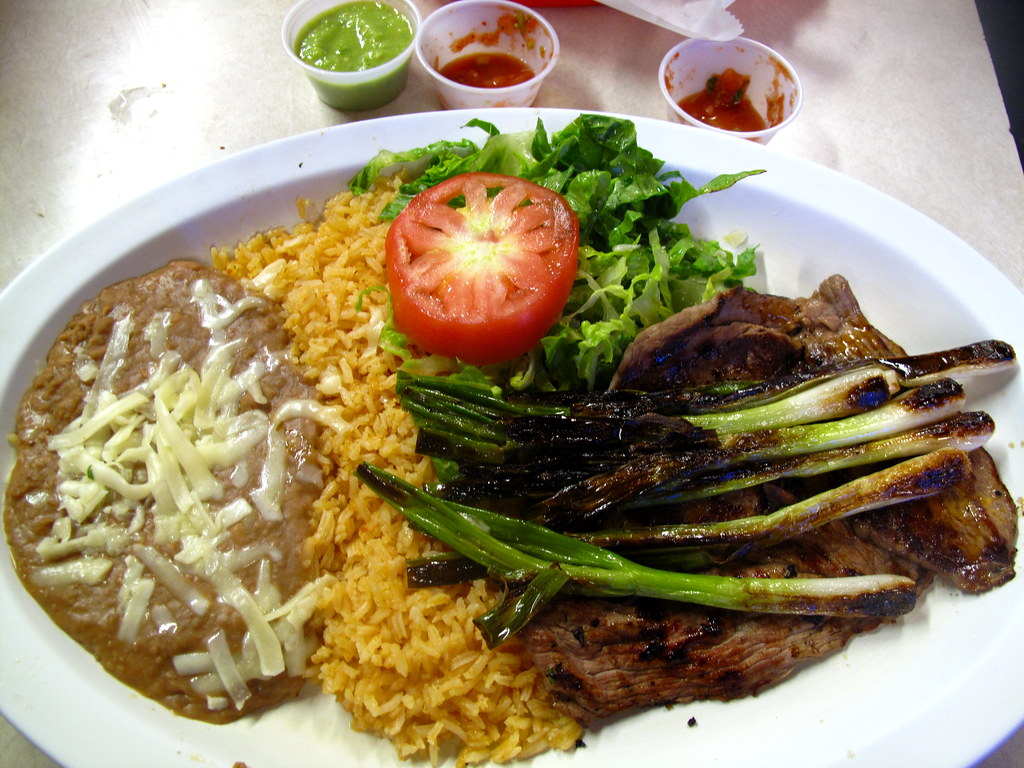 Carne Asada plate at El Farolito | Premshree Pillai | Flickr