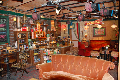 """Friends"" set - Cafe Central Perk 