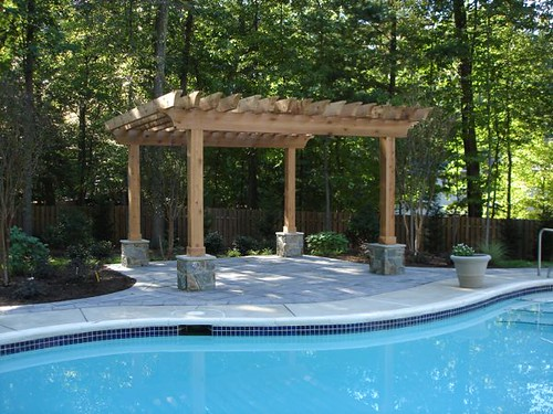Backyard Swimming Pool Landscape M M Professional
