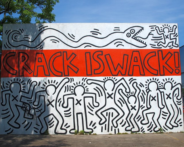 Crack is wack mural harlem new york city flickr for Crack is wack mural