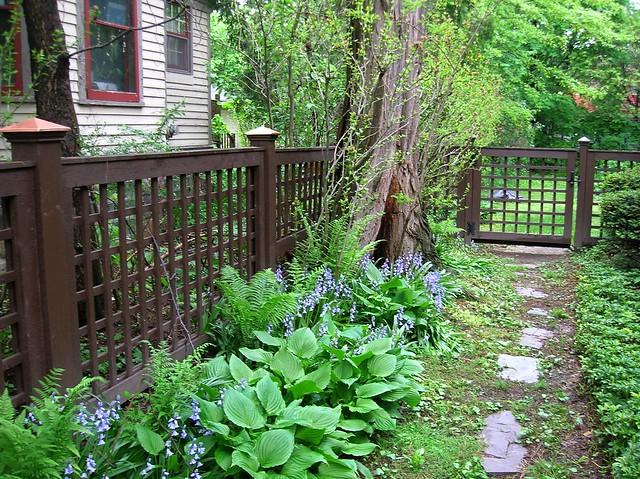 Square Lattice Fence Flickr Photo Sharing