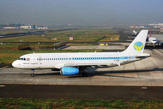 AIR DECCAN 320-200 VT-DKW(cn2029)