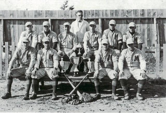 middleton baseball team 1923 nova scotia champions flickr. Black Bedroom Furniture Sets. Home Design Ideas