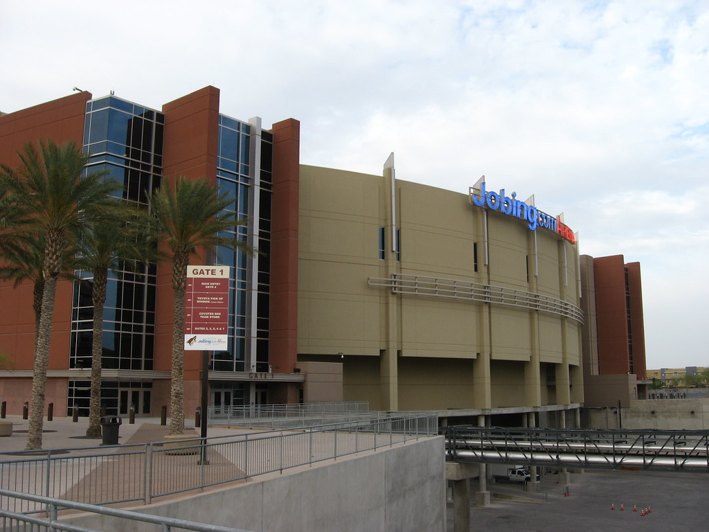 Jobing.com Arena, Home of the Phoenix Coyotes, in new West ...