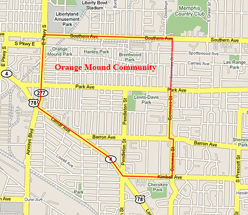 Orange Mound Neighborhood Signs By Kelly Brother An