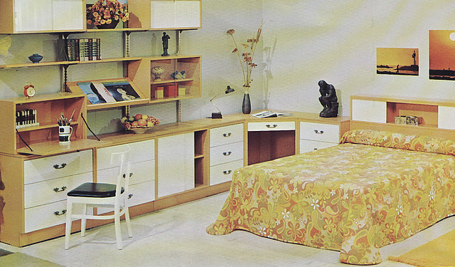 Woodland Furniture 1960s bedroom Heather David Flickr - 1960s Bedroom Furniture