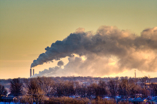 Early Morning Smoke Stacks (HDR) | by nixter