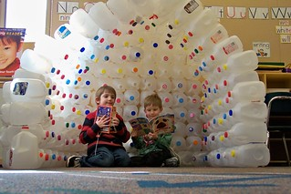 milk carton igloo | by TownePost Network