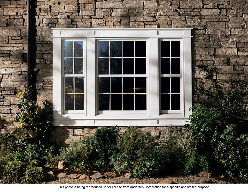 Andersen 400 series energy efficient woodwright double h for Energy efficient bay windows