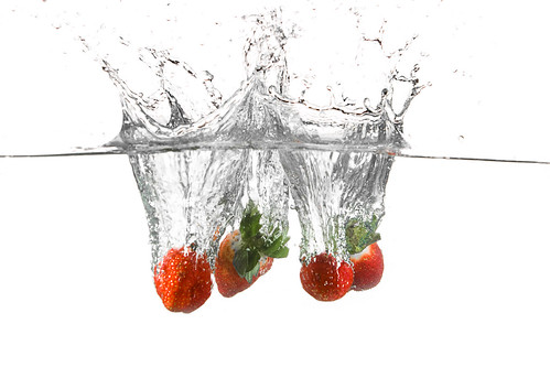 Strawberry splash | by Dan. D.
