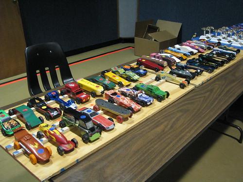 Race Track Table Decor