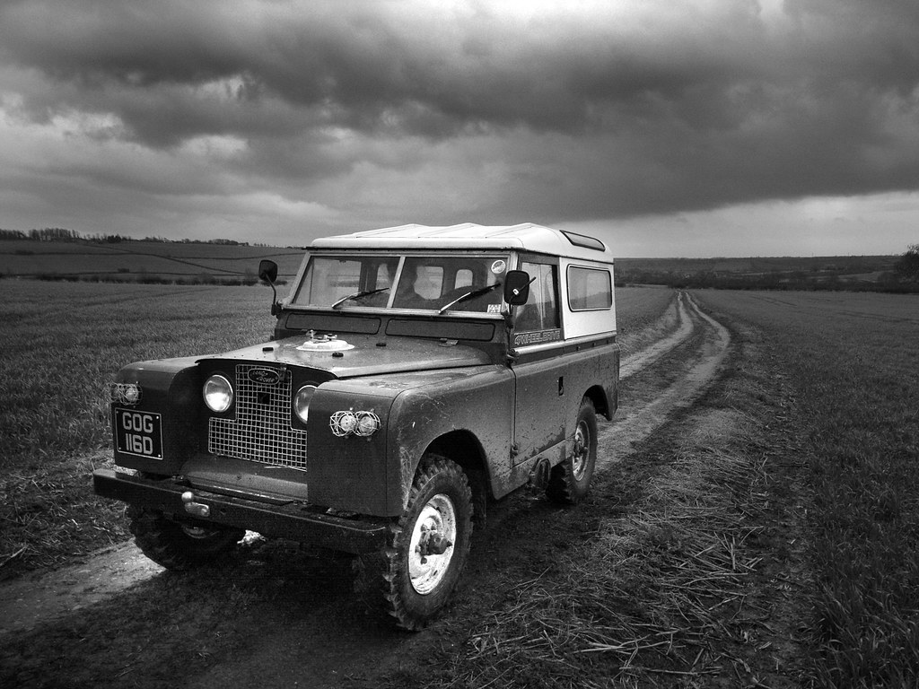 land rover series 2 v8 somewhere offroad in leicestershire flickr. Black Bedroom Furniture Sets. Home Design Ideas
