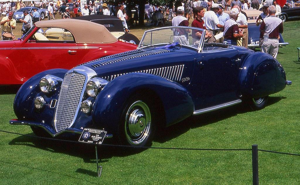1938 Alfa Romeo 8c 2900b Mm Roadster