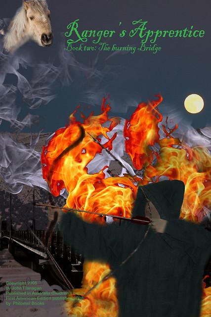 rangers apprentice the burning bridge book report