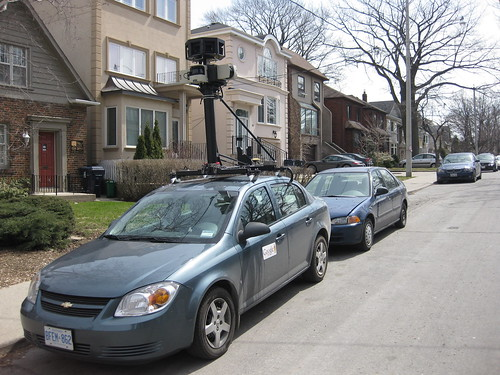 Google Street View Car | by andrew.dickson