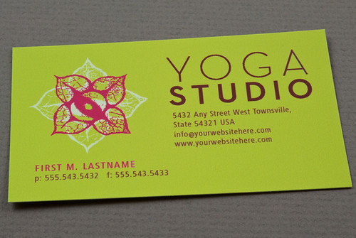 Yoga business card contemporary yoga business flickr