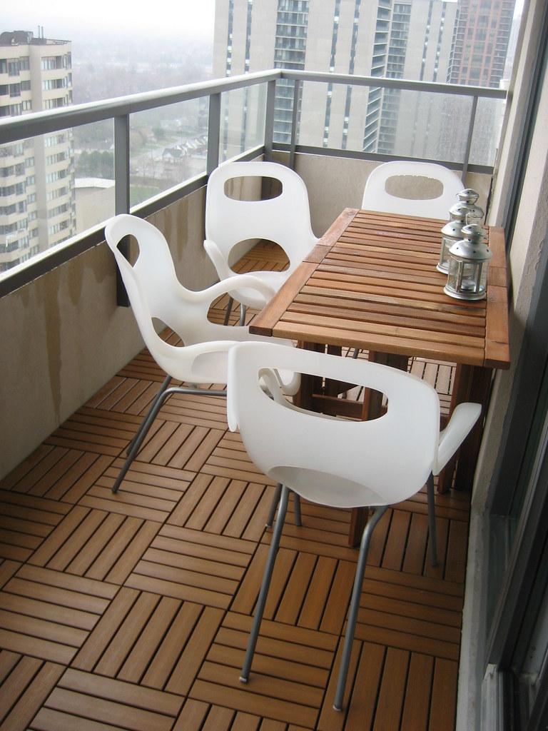 Ikea Small Balcony Decorating Ideas: Our Condo Balcony Patio Setup