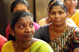 Women at a community meeting | by World Bank Photo Collection