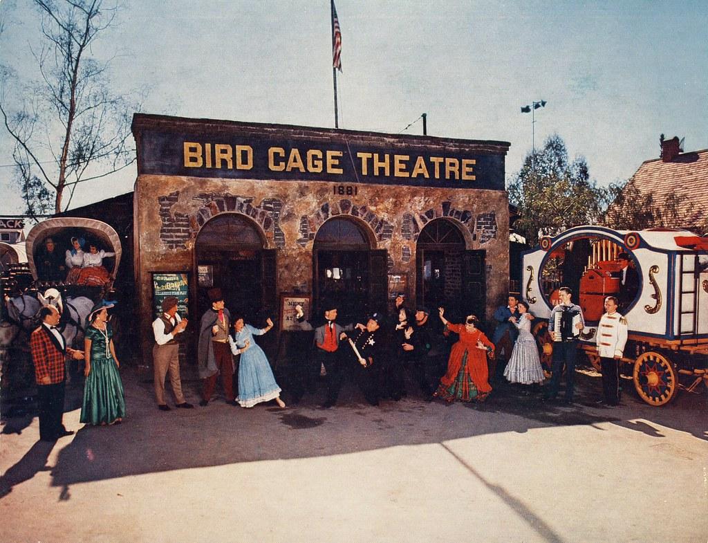 bird cage theatre knott 39 s berry farm 1954 shows the. Black Bedroom Furniture Sets. Home Design Ideas