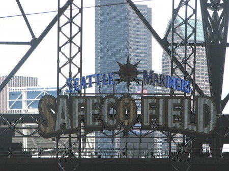 Safeco Field A View To The City When The Roof Is Closed
