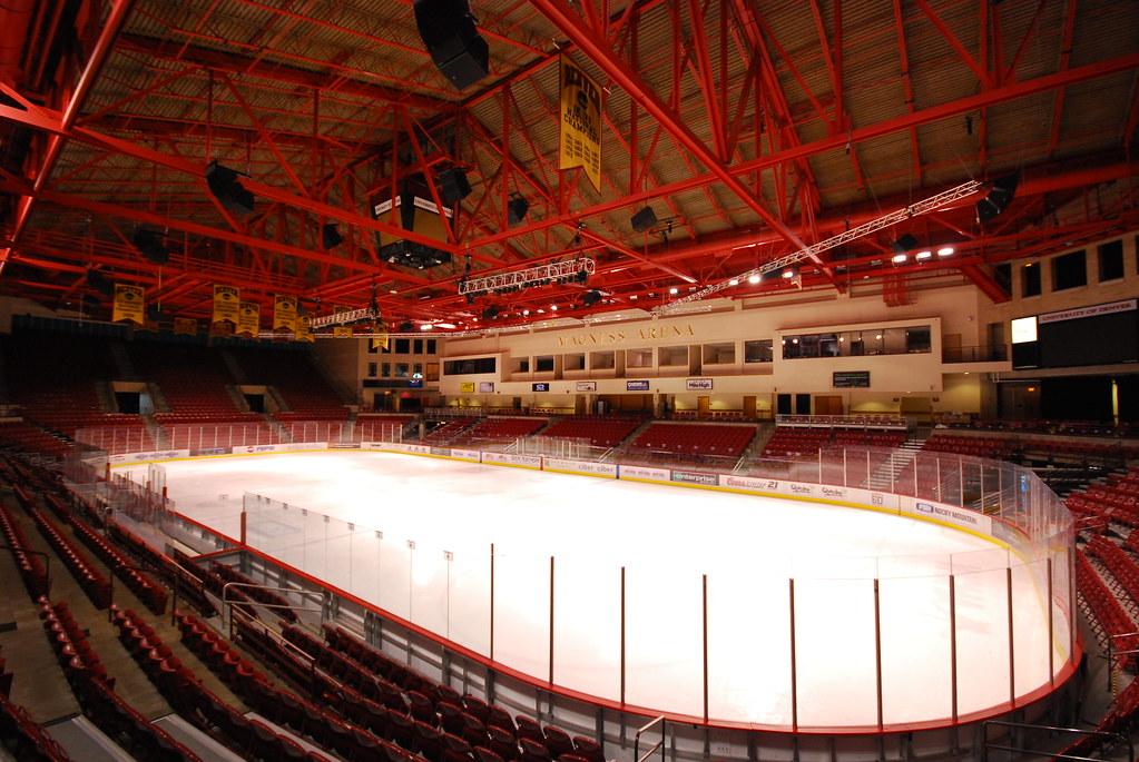University Of Denver Hockey Arena Eric Brow Flickr