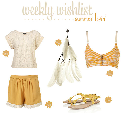 weekly wishlist | by Pearls, Lace And Ruffles