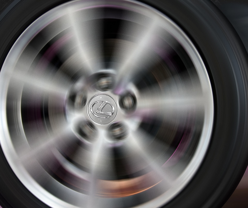Lexus Wheel Lexus Wheel Spinning Haris Awang Flickr