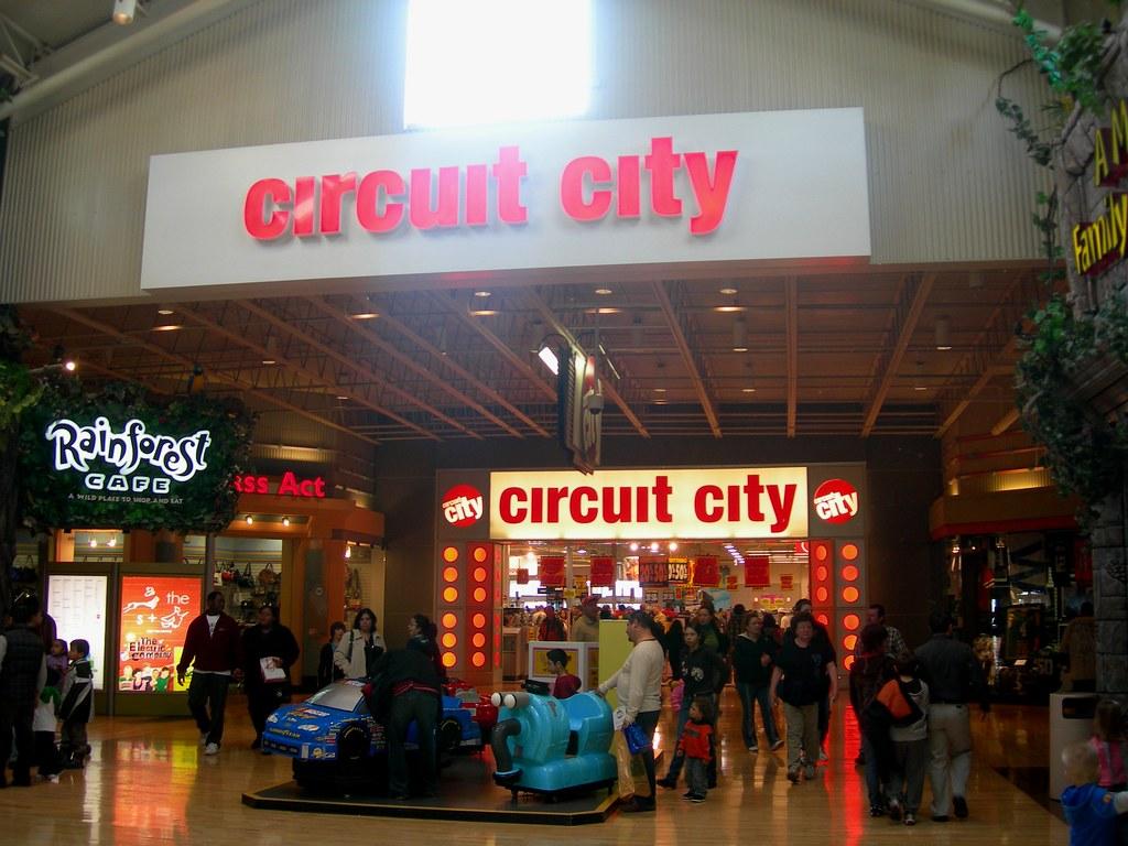 Circuit City Gurnee Mills Mall Entrance To Circuit City