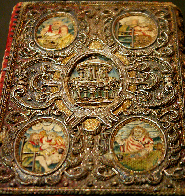 Embroidered Book Cover | Victoria And Albert Museum - Britisu2026 | Flickr