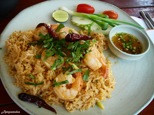 Spicy Thai Fried Rice With Shrimp Thai Spicy Fried Rice